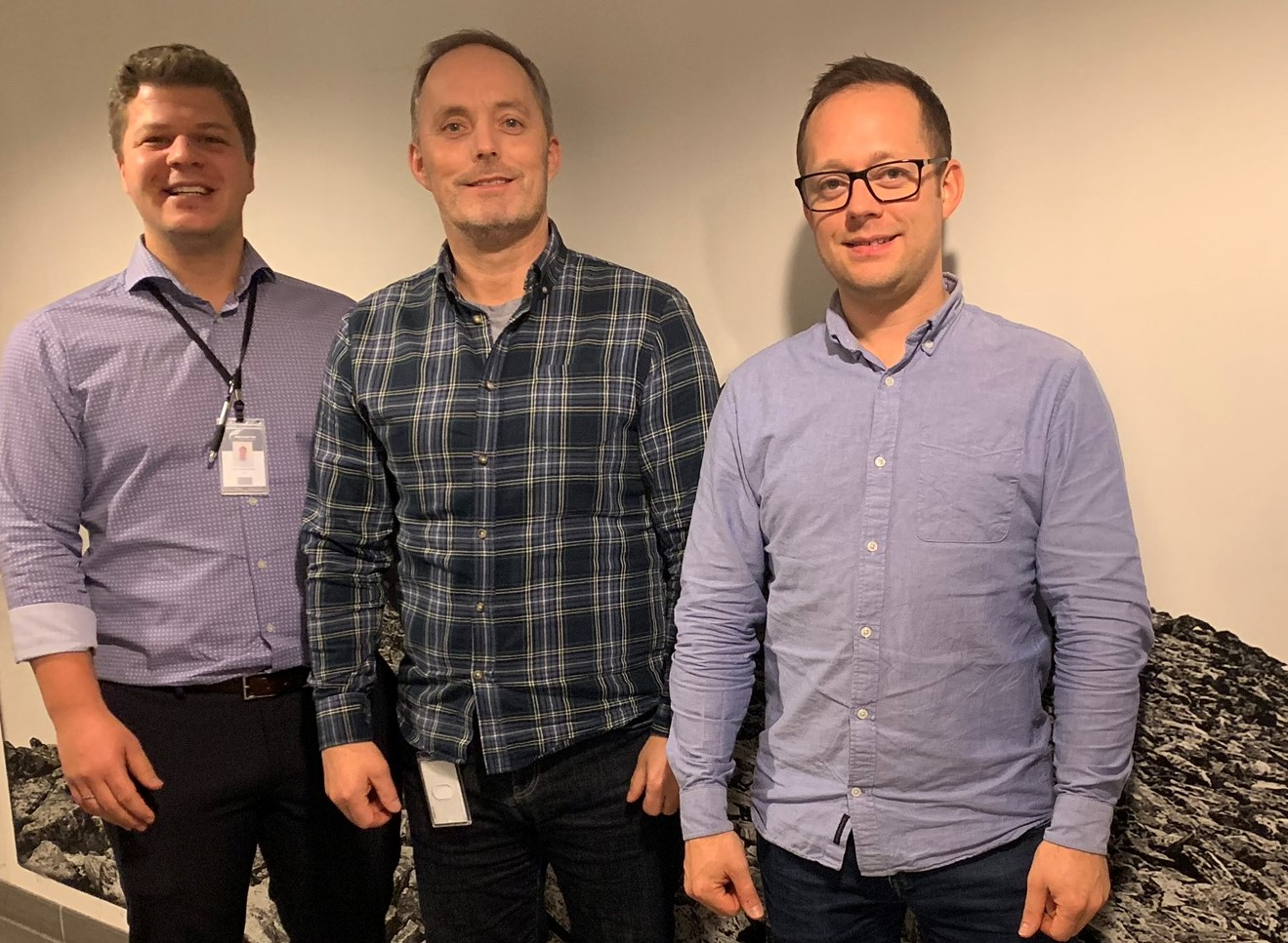 Three new hires at Norautron's head office during November