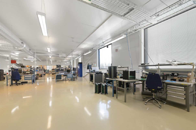 Picture of Norautron AS' new production premises in Horten, Norway